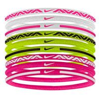 Cintas deportivas Nike de colores rosa, blanco, verde