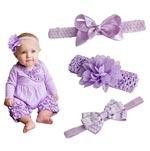 Diademas para bebé lila