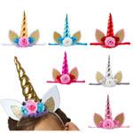 6 Diademas de unicornio