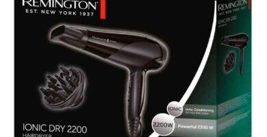 caja secador remington ionic dry 2200