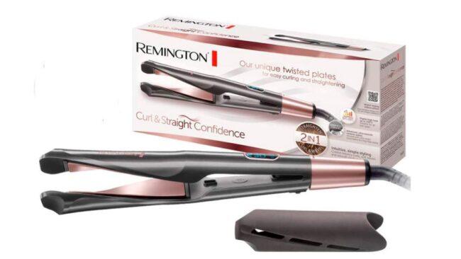 plancha-Remington-S6606-Curl-&-Straight-Confidence-Plancha-de-Pelo-Alisador-y-Rizador
